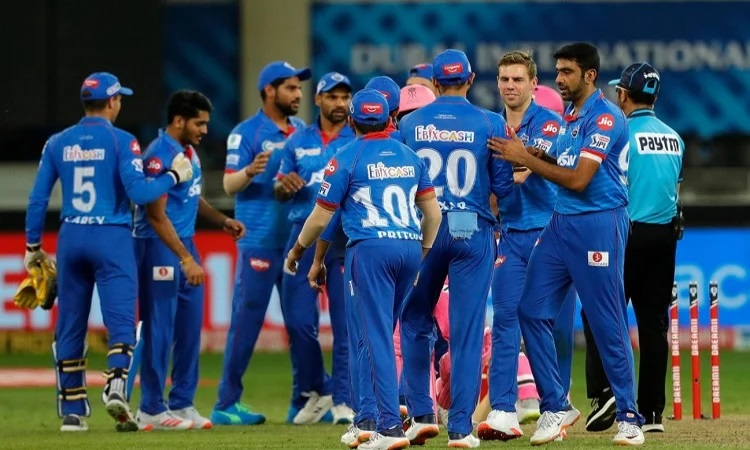 delhi capitals beat rajasthan royals by 13 runs and reached the top on points table in punjabi