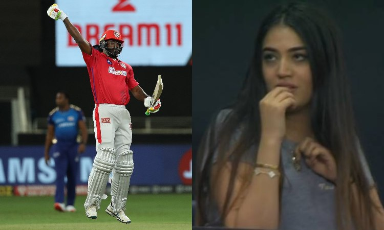 during MI and Kings XI Punjab match The Super Over girl who is trending her name is Riana Lalwani i