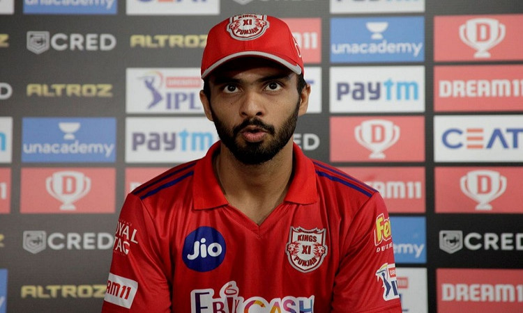 father used to tell me to remain not out in every game: kxip's mandeep after unbeaten 66