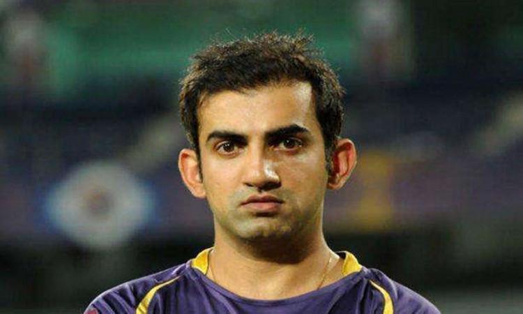 former indian player Gautam Gambhir talks about KKR captaincy change in hindi