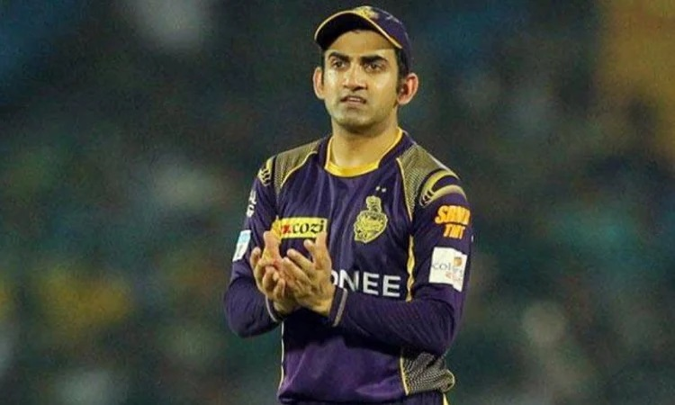 gautam gambhir picks his fantasy xi for csk and kkr match dhoni named as captain in the team