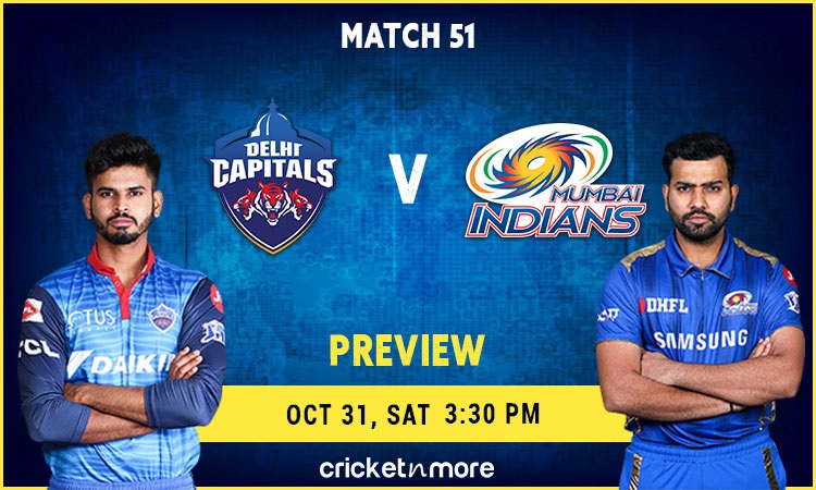 ipl 2020 delhi capitals vs mumbai indians fantasy cricket tips prediction pitch report