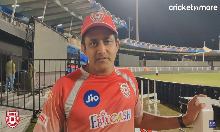 ipl 2020 it's important to set the tone early be it batting or bowling says kumble