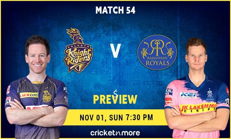 ipl 2020 kolkata knight riders vs rajasthan royals fantasy cricket tips, prediction pitch report