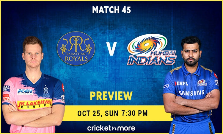 ipl 2020 rajasthan royals vs mumbai indians – fantasy cricket tips, prediction & pitch report