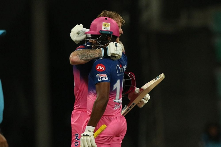 ipl t20 points table after rajasthan's 8 wicket win over mumbai
