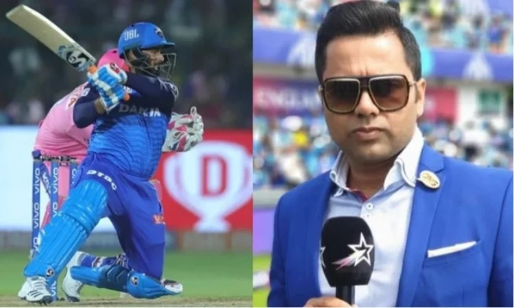 it seems dc batsman rishabh pants form is very far from him says aakash chopra
