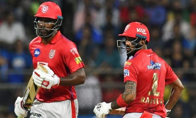 kl rahul discloses why they sent chris gayle at no 3 against rcb in punjabi