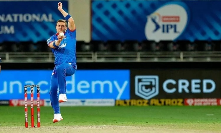 shaun tait holds the fastest ball in the ipl not delhi capitals anrich nortje