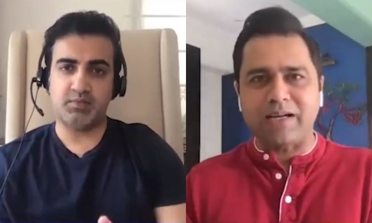 Aakash Chopra and Gautam Gambhir involved in heated debate over Indias T20 captaincy