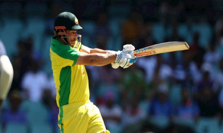Aaron Finch became the second quickest Australian to reach 5000 ODI runs