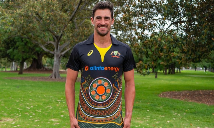 Australian team to wear indigenous jersey for T20Is vs India