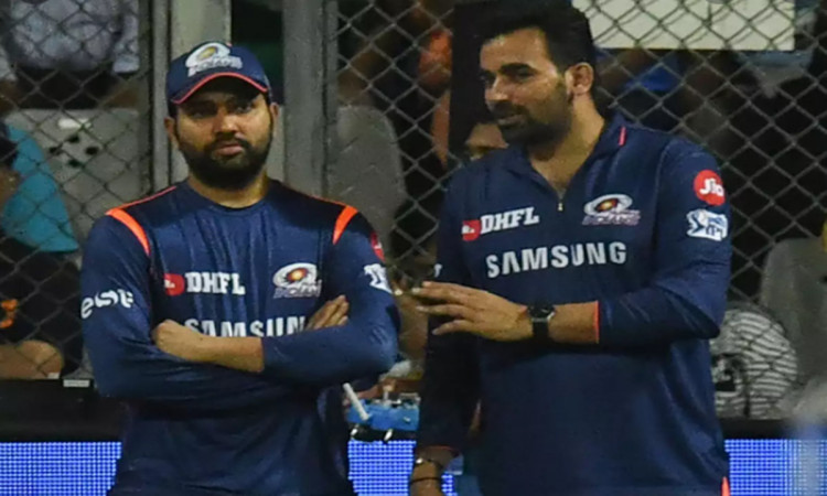 Australia vs India Zaheer Khan says rohit sharma was fit enough to play T20 format for Mumbai Indian