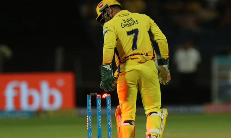 Chennai Super Kings batsman MS Dhoni says When you say CSK you think of MS Dhoni in hindi