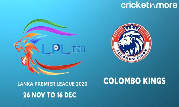 Colombo Kings Squad & Schedule