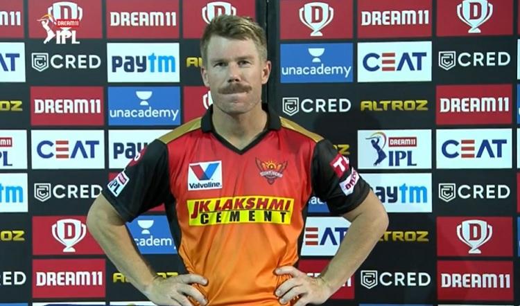 David Warner Sunrisers Hyderabad