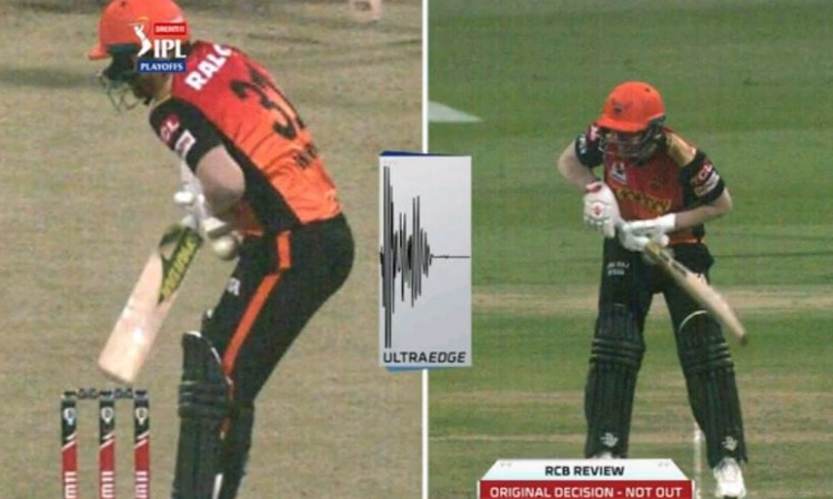 SunRisers Hyderabad skipper David Warner's dismissal stokes controversy