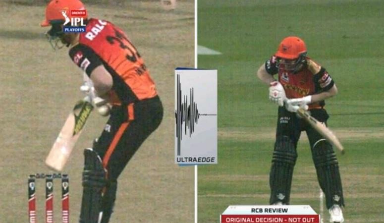 SunRisers Hyderabad skipper David Warner's dismissal stokes controversy
