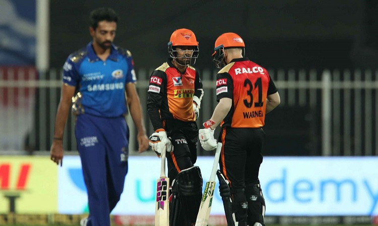 Sunrisers Hyderabad beat Mumbai Indians by 10 wickets to reach IPL 2020 playoffs
