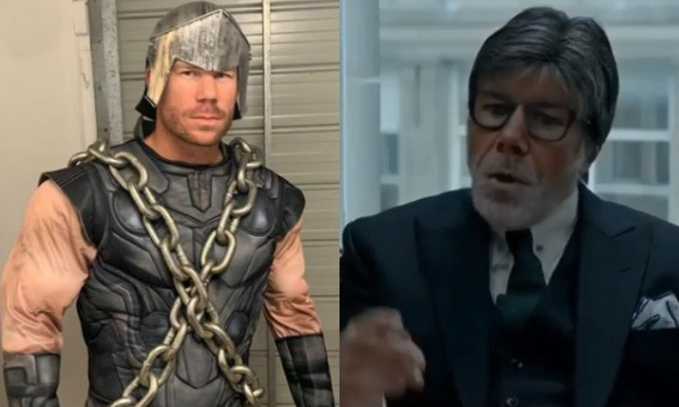 David Warner told the name of that person which helps him to change his look in bollywood avatar
