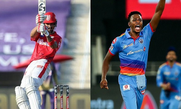Delhi Capitals pacer Kagiso Rabada reclaims Purple Cap and Kings XI Punjab captain KL Rahul on top i