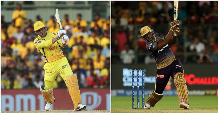 Dhoni and Russell