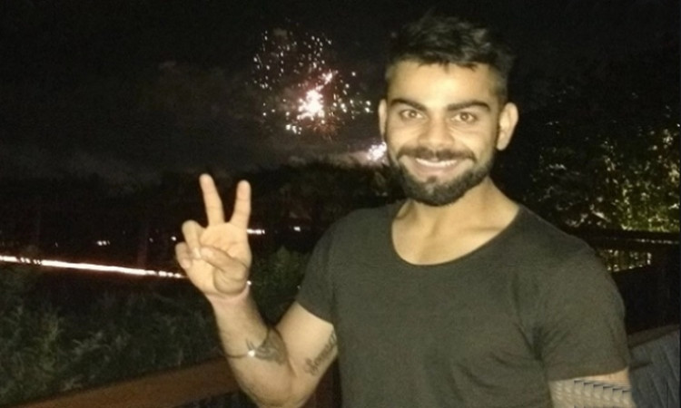 Fans slam Virat Kohli after he urged everyone to not burst crackers to protect environment in hindi