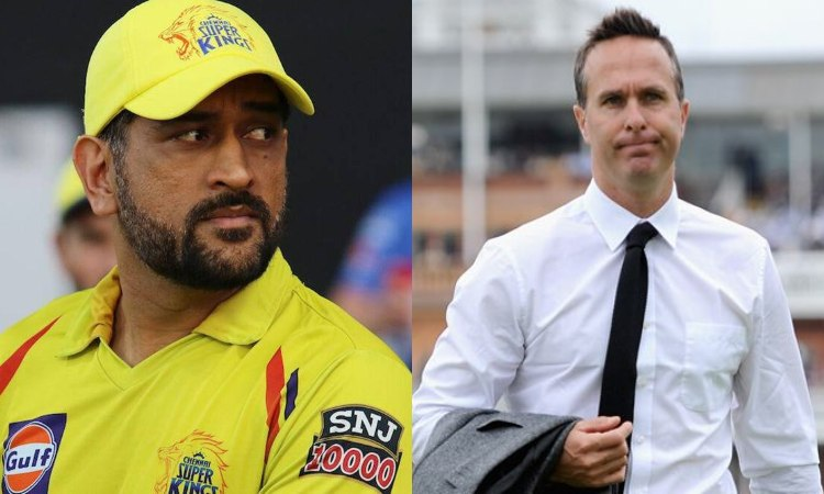 Michael Vaughan says csk captain MS Dhoni cannot go out in front of no crowd