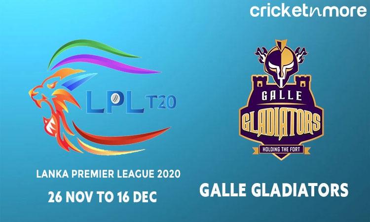 Galle Gladiators Squads & Schedule