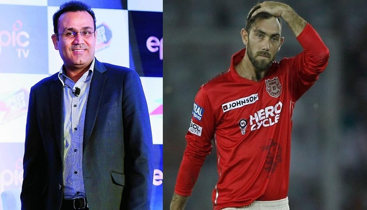 Glenn Maxwell opens up about former indian cricketer Virender Sehwag 10 Crore Cheerleader Remark