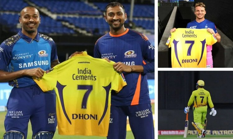 IPL 2020 CSK captain MS Dhoni opens up why players collected MS Dhoni CSK jerseys in hindi