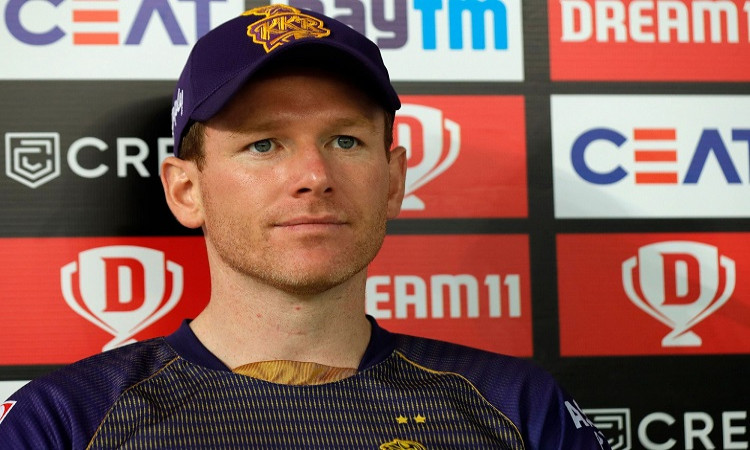 IPL 2020 KKR Vs RR Eoin Morgan on KKR playoff chances whatever happens from here is up to the Gods
