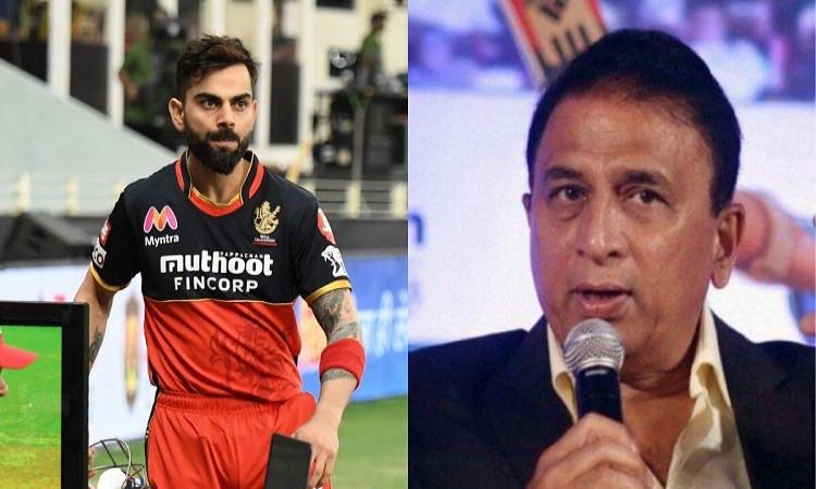 IPL 2020 SRH vs RCB Former Indian cricketer Sunil Gavaskar opens up about Virat Kohli