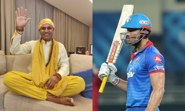 IPL2020 Virender Sehwag talks about Delhi Capitals opening with Marcus Stoinis in hindi