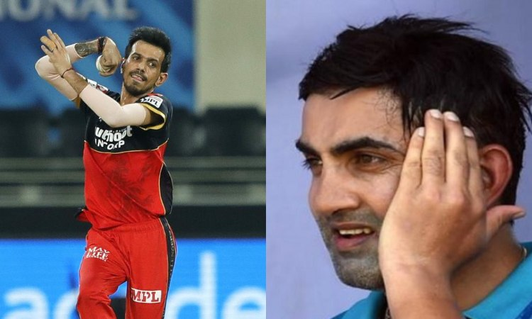IPL 2020 gautam gambhir gets trolled by users on socail media after he praised yuzvendra chahal