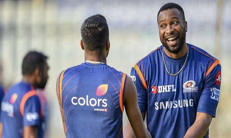 IPL 2020 mi allrounder Kieron Pollard talks about his relationship with the Pandya brothers in hindi