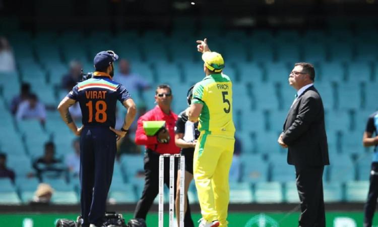 australia opt to bat first in second odi vs india