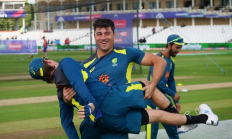 Adam Zampa and Marcus Stoinis are doing their best to work out together Before limited overs series