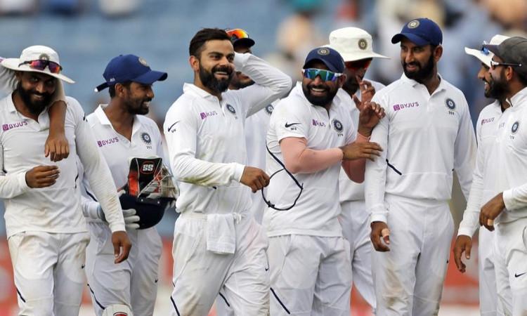 Wicket keeper Wriddhiman Saha resumes training at Team India nets