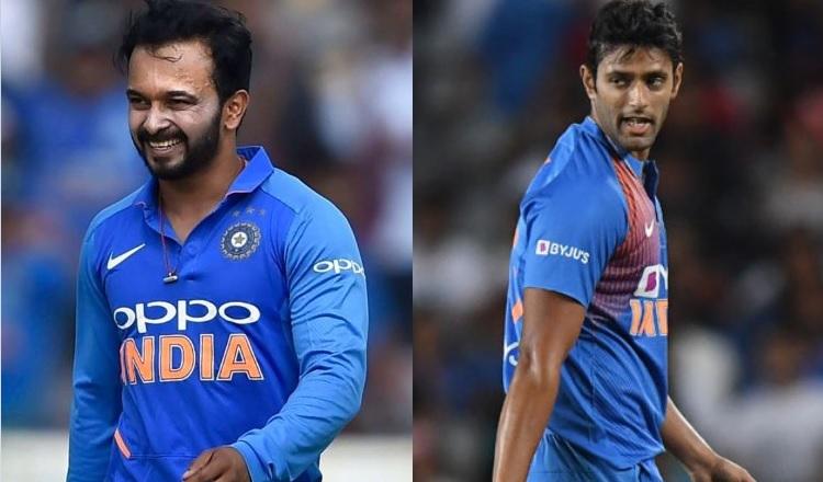 Kedar Jadhav and Shivam Dube