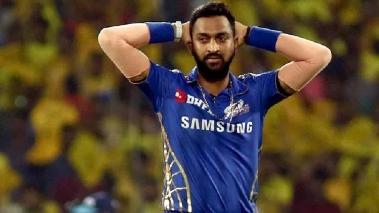 DRI Fines Indian Cricketer Krunal Pandya For Carrying Excess Valuables