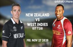 WI v NZ First T20I