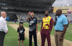 New Zealand opt to bowl first against West indies in first t20i