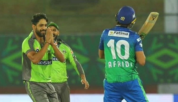 PSL 2020 Haris Rauf opens up about the reason for his celebration after dismissing Shahid Afridi