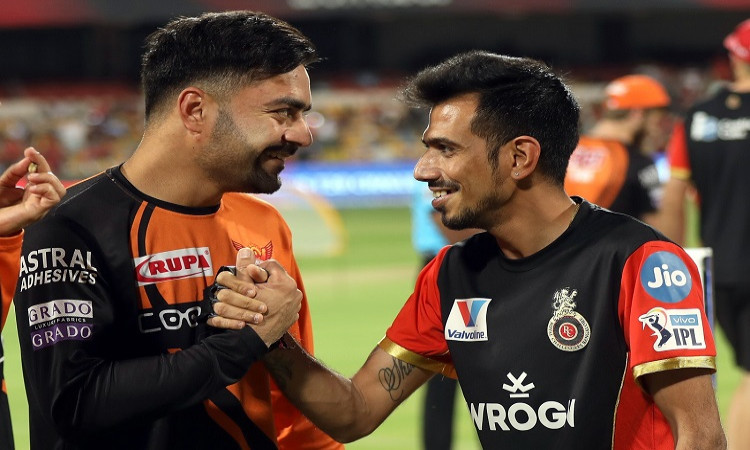 Rashid Khan trolls Yuzvendra Chahal in hindi
