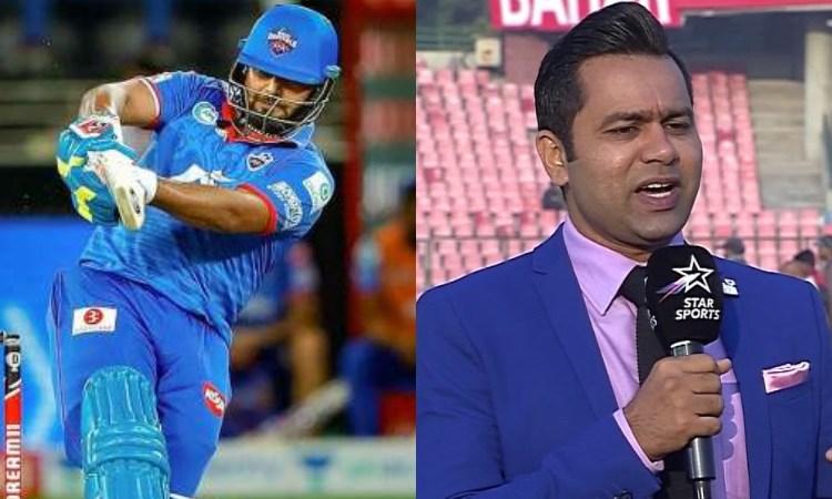 Aakash Chopra slams Rishabh Pant for poor performance in IPL 2020