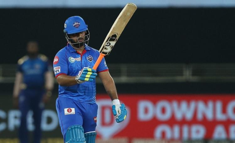 Rishabh Pant complete half century, Delhi capitals 188/4 after 16 overs