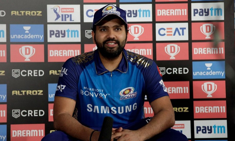 My hamstring absolutely fine says Rohit Sharma after Sunrisers Hyderabad game