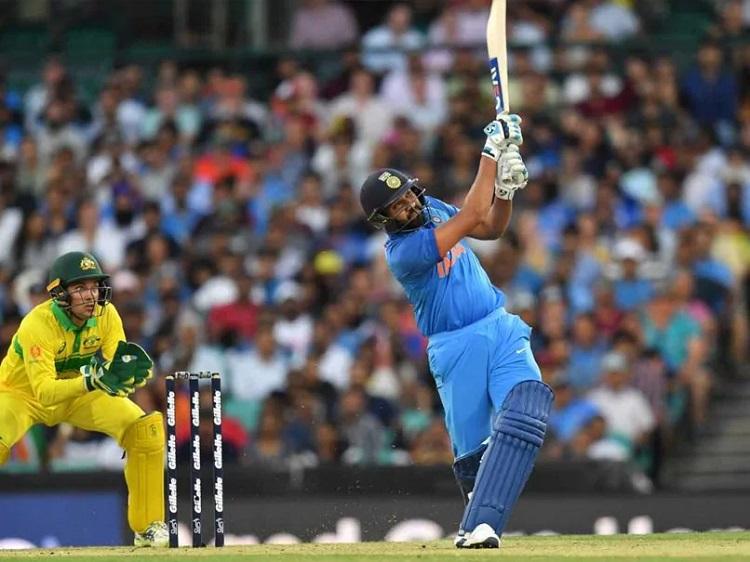 Rohit Sharma against Australia