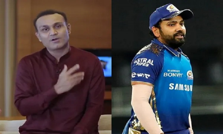 Rohit Sharma and Sehwag